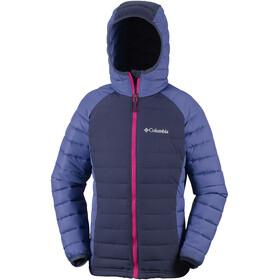 Columbia Powder Lite Hooded Jacket Girls Nocturnal/Eve